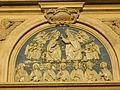 Chiesa di ognissanti, lunetta incoronazione della vergine, attribuita a Benedetto Buglioni.JPG