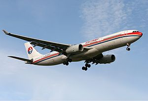 China Eastern Airlines Airbus A330-300 MEL Zhao.jpg