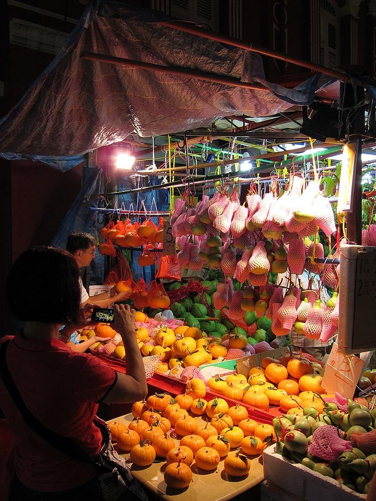 Chinatown Night Market Food Stall