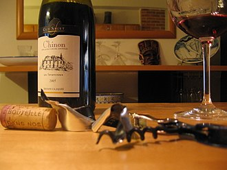 Cabernet Franc - A Chinon wine from the Loire Valley made from Cabernet Franc.