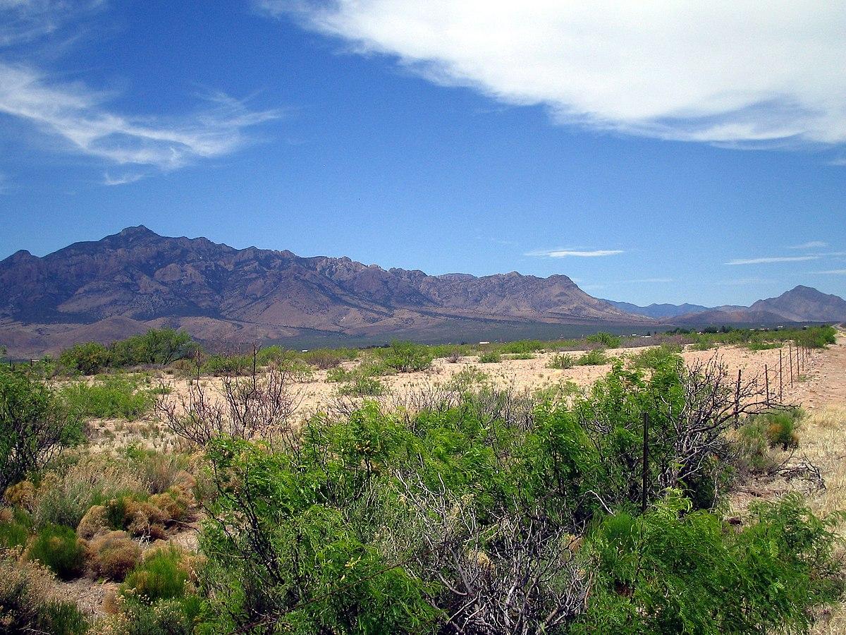 Chiricahua Mountains - Wikipedia