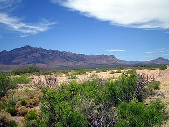Douglas, Arizona - Chiricahua Mountains