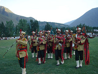 Chitral Scouts Paramilitary force of Pakistan