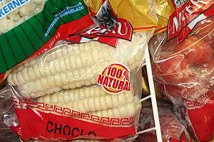 Peruvian corn - Peruvian choclo