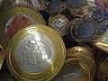 Chocolade muntjes van een Dubbelekop.jpg