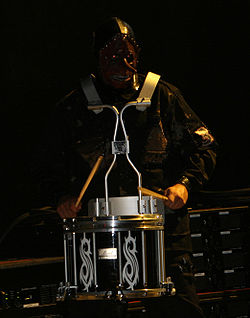 Chris Fehn al Mayhem festival