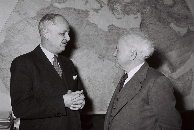 File:Christian Pineau-David Ben Gurion 1959.jpg
