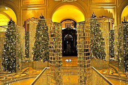 Christmas Decor at The Four Seasons George V