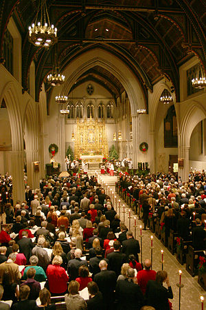 St. James' Episcopal Church (New York City) - Image: Christmas Eve 2