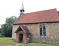 Church at Mashbury, Essex, England, from the south.JPG