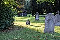 Church of St Andrew, Nuthurst, West Sussex - churchyard 03.jpg