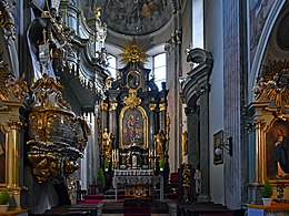 Church of St Andrew (interior), 56 Grodzka street, Old Town, Krakow, Poland.jpg