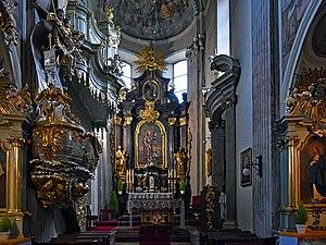 St. Andrew's Church, Kraków - Image: Church of St Andrew (interior), 56 Grodzka street, Old Town, Krakow, Poland