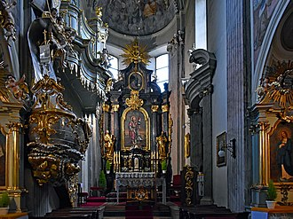 St. Andrew's Church, Kraków - Image: Church of St Andrew (interior), 56 Grodzka street, Old Town, Krakow, Poland