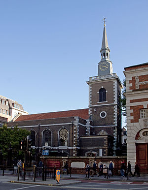 St James's Church, Piccadilly - Image: Church of St Jamess Piccadilly 2 (5123798865)