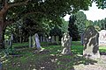 Church of St Mary the Virgin, Woodnesborough, Kent - churchyard at west.jpg