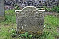 Church of St Nicholas, Ash-with-Westmarsh, Kent - gravestone memento mori 03.jpg