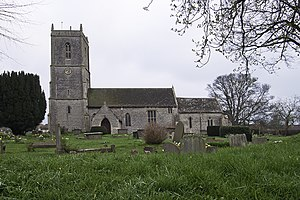Pucklechurch - Image: Churchat Pucklechurch