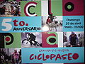 Ciclopaseo Quito Ecuador Fifth Anniversary Poster.JPG