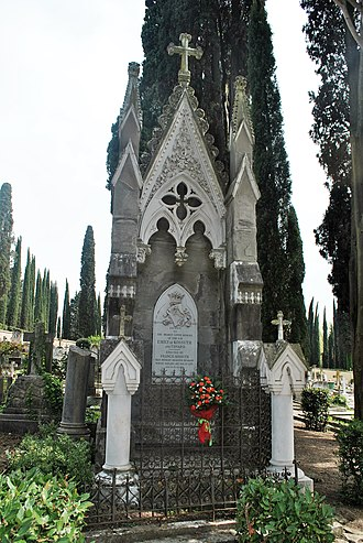 Ferenc Kossuth - Cimitero degli Allori, Emily Hoggins Kossuth