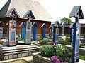 Cimitirul Vesel din Săpânța, județul Maramureș - detalii 01.JPG