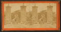 City gates, looking into St. George Street. St Augustine, Florida, from Robert N. Dennis collection of stereoscopic views.png
