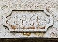 Clé de linteau, datée de 1841. Courchaton.jpg