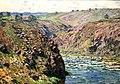 Claude Monet - Valley of the Creuse, Sunlight Effect.jpg