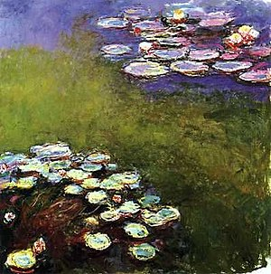 1916 in art - Claude Monet, Nympheas, Musée Marmottan Monet, 1916