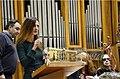 Claudia Piccini la poetessa ad un premiazione letteraria.jpg