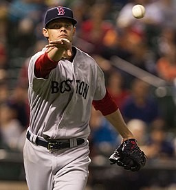 Clay Buchholz on May 21, 2012