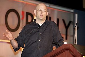 English: Clay Shirky at the 2006 O'Reilly Emer...