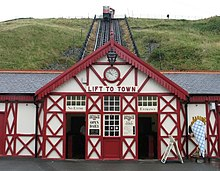 Cliff Railway, Saltburn-by-the-Sea. - geograph.org.uk - 1475707.jpg
