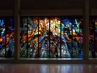 """Henry Haig - """"Pentecost"""", (1972–73), Clifton Cathedral"""