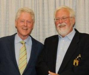 John Downing - Image: Clinton and Downing