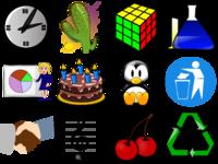 Examples of computer clip art