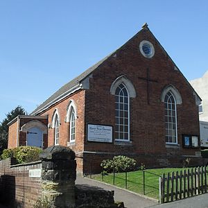 St Luke's United Reformed Church, Silverhill, Hastings - Clive Vale United Reformed Church is one of three others of that denomination in Hastings.