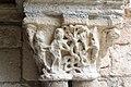 Cloître de la cathédrale Saint Lizier-Chapiteau (Le péché originel)-20150502.jpg