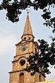 Clock Tower with Spire - St Johns Church - Kolkata 2015-05-09 6616.JPG