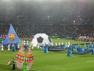 2009 FIFA Club World Cup - Closing ceremony of the tournament