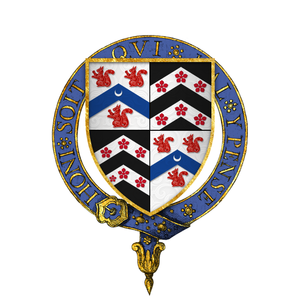 Thomas Lovell - Arms of Sir Thomas Lovell, KG