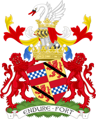 Robert Lindsay, 29th Earl of Crawford - Image: Coat of arms of the earl of Crawford Premier earl of Scotland
