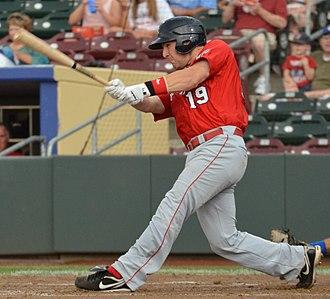 Cody Clark (baseball) - Image: Cody Clark on July 22, 2013