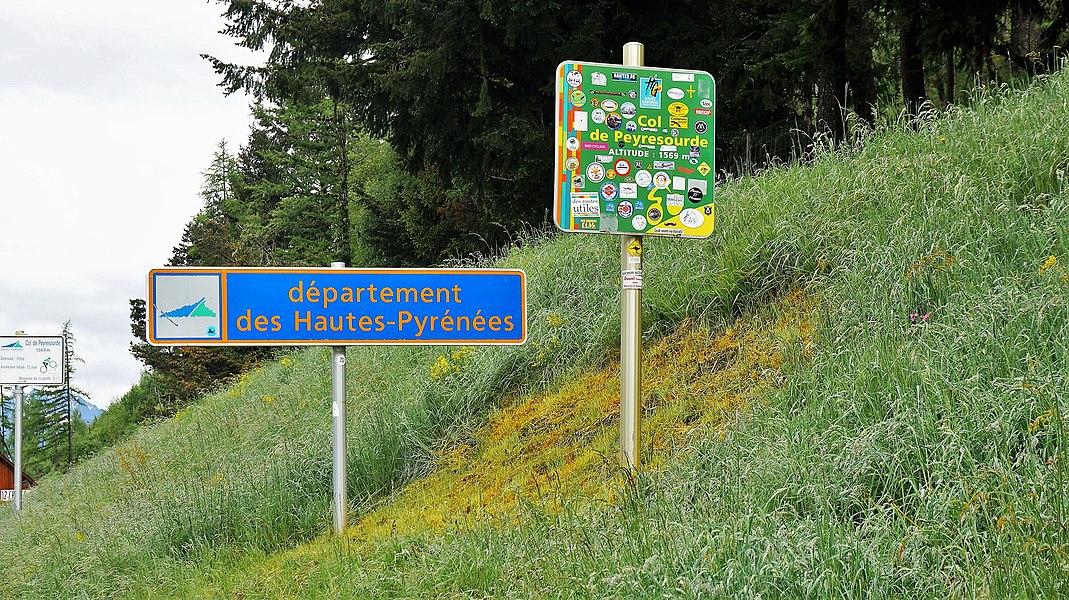 Col de Peyresourde, Loudervielle, Frankreich