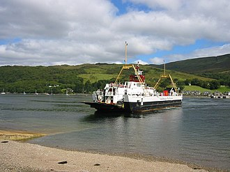 Colintraive - Image: Colintraive Ferry geograph.org.uk 229513
