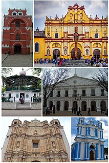 San Cristóbal de las Casas City in Chiapas, Mexico