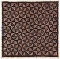 Collectie NMvWereldculturen, RV-847-102, Batikpatroon, 'Belah ketupat', voor 1891.jpg