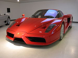 The ferrari enzo
