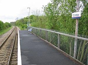 Combe railway station - Image: Combe Halt Station