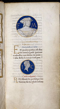 Commentaire des guerres galliques - Harley 6205 f3.jpg